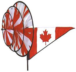 Canada Flag Tripple Spinner